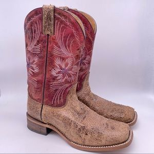 Nocona Cowgirl Boots Roughout style Size 10 M